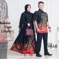 Couple batik sarimbit pesta kondangan bambu cape ori najwa
