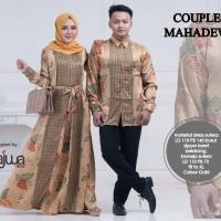 Couple sarimbit batik semi sutera hem lengan panjang Mahadewi ori najw