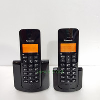 Telephone Wireless Panasonic KX-TGB112 - Black (2 handset) New Model