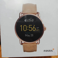 Jam fossil smartwatch q wander light cream