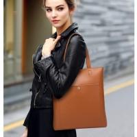 Casual PU Leather Tote Bag