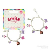 SMIGGLE SMILE SHIMMER CHARM BRACELET - GELANG ANAK SMIGGLE