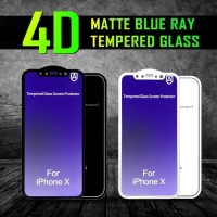 Anti Gores Blueray 4D Matte Full Cover IPHONE 6 6s 7 8 PLUS 10 X