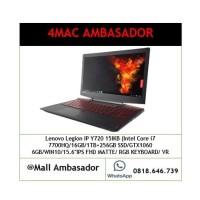 Lenovo Legion IP Y720-i7 7700HQ-16GB-1TB+256GB-GTX1060 6GB-FHD-W10
