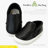 Prewalker - Sepatu Bayi | Freddie the Frog | Tony Braid Black