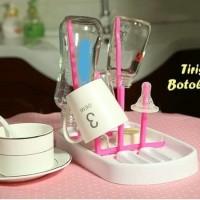 Rak Botol Susu & Gelas Tirisan Dot Mug Drying Rack