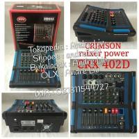 Harga mixer mini4a 4 channel type crx 402d crimson   Pembandingharga.com