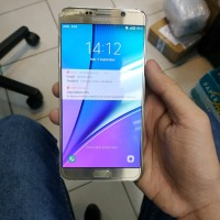 Samsung Note 5 Second Bekas Original Fullset