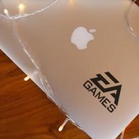 Decal Sticker Macbook Stiker EA Games Logo Stiker Laptop