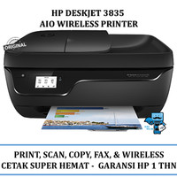 Printer Wireless HP DeskJet Ink Advantage 3835 All-in-One Printer