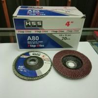 flap disc / Amplas susun / gurinda amplas