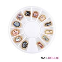 Gemstone nail art wheel / nail charm / nail decor
