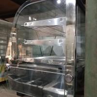 Food warmer display RTR-120L 67.8x56.8x 67cm 30-70 derajat Getra Gea
