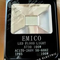 Kap Sorot 100W Kuning Lampu Tembak Outdoor 100 watt IP65 Warm White