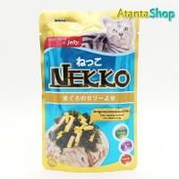 Nekko - Tuna Topping Seaweed and Steamed Egg 70g kornet kucing