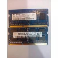Memory laptop DDR3 4Gb 12800s Seken / Bekas