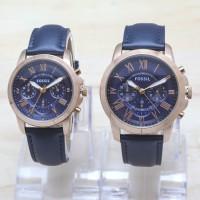 Jam Tangan Couple Fossil Chrono Aktif Premium Harga Satuan