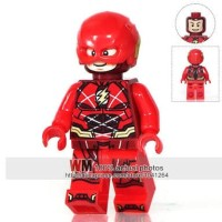 Lego The Flash Minifigure Justice League Bootleg