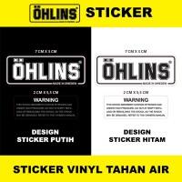 Sticker Tabung | Stiker Tabung Shock Ohlins (Replika Like Original)