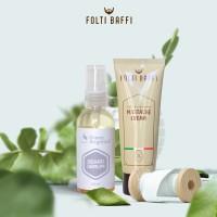 Paket Obat Penumbuh Brewok dan Jambang Alami Foltibaffi & Beard Serum