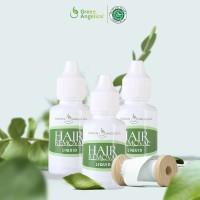 Paket Perontok Bulu Ketiak & Kaki Permanen Green Angelica (3 btl)