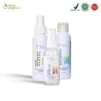 Penumbuh Rambut Alami dan Anti Rontok - Green Angelica Paket Maximal