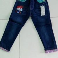 Celana panjang jeans Anak perempuan Umur 4, 5,6,7,8,9,10 Tahun
