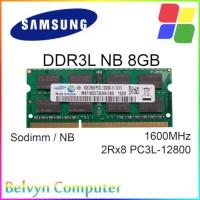 Samsung 8GB DDR3L PC 12800 SODIMM RAM Memory Laptop Notebook DDR3
