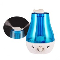X07 Dual Mist Noozle Humidifier Air Purifier 360 Degree Mist 3L