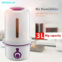 X12 Large Capacity Air Humidifier Purified Version LED Night - 3 L