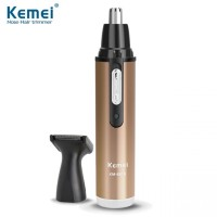 KEMEI KM-6629 2 in 1 Rechargeable Nose Beard Hair Trimmer