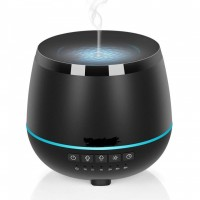 H45 Aromatherapy Cool Mist Ultrasonic Air Humidifier LED Light-200ML