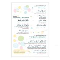 Poster Anak Doa Dijauhkan Malas Lumalumi