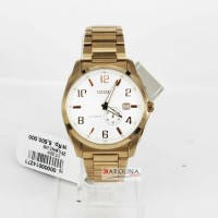 CITIZEN NJ0042-59B PRIA STAINLESS STELL GOLD DIAL BIG SALE 50%
