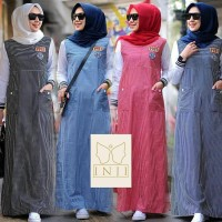 jual baju muslim wanita/ jenna gamis maxi dress murah/grosir bajuhijab