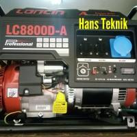 Genset LONCIN LC 8800 D-A Generator Set Listrik LC8800D-A Original
