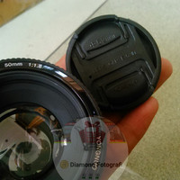 Lensa FIX YONGNUO EF YN 50mm f1.8 untuk CANON DSLR Kamera