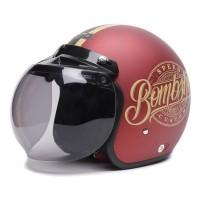 [Helm Dewasa] WTO Helmet Retro Bogo - Bombshell - Warna Doff