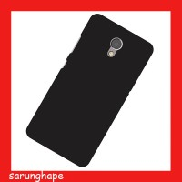 Black Rubber Hard Case Casing for Lenovo P2