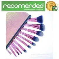 Mermaid Kuas Aplikator Make Up 10PCS - Pink