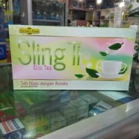 NATURES PRIDE SLING TI GREEN TEA WITH ROSELLA