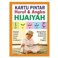 Flashcard Kartu Pintar Angka Huruf Hijaiyah Arab Inggris Indonesia