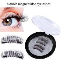 Double magnetic eyelashes / bulu mata palsu magnet / fake eyelash
