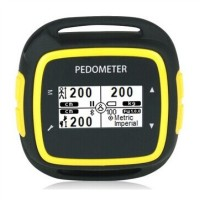 EGOMAN Bluetooth Fitness Activity Tracker - PD198 Hitam Kuning