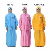 Jas Hujan Rok Anak Remaja Jas Hujan Jaket Rok OLIVE Indoplast