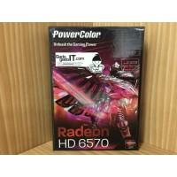 VGA Card PCI-E POWERCOLOR ATI RADEON HD 6570 1GB DDR3 128BIT (GARANSI