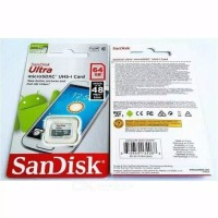 MICRO SD CARD SANDISK ULTRA 64GB CLASS 10 GRADE ORI KARTU MEMORI 64 GB