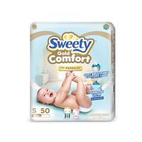 Harga new popok bayi perekat sweety comfort gold s50 popok | Pembandingharga.com