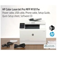HP Color Laser Jet Multi Function Printer M181FW HP T6B71A Fax WiFi