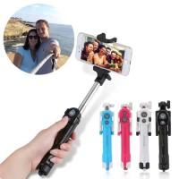 Tongsis Tripod Lipat Mini Anti Muter Standing Monopod Selfie